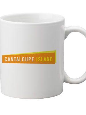 Mug with Cantaloupe Island Logo